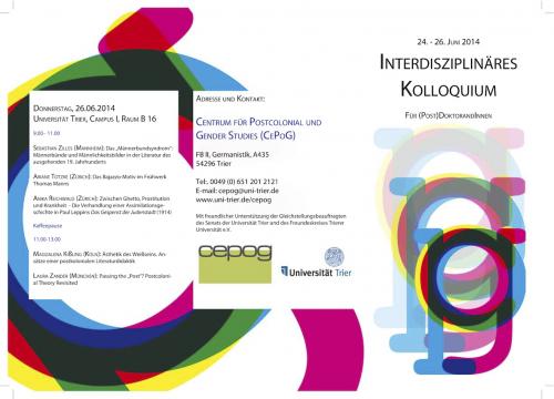 CePoG (Post)Graduate Symposium 2014