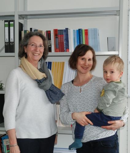 Ursula Lehmkuhl with Kati Dlaske