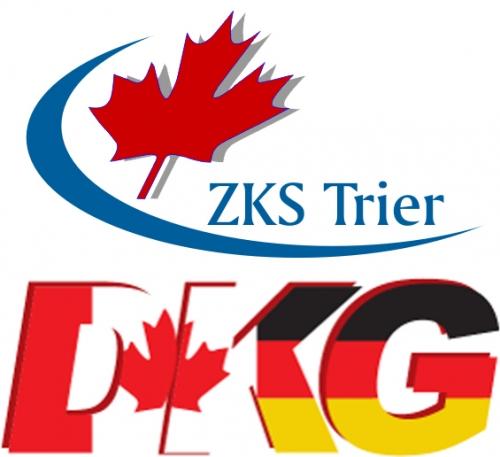 Logos des ZKS und der DKG