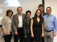 S. Seibel with her supervisors and IRTG faculty