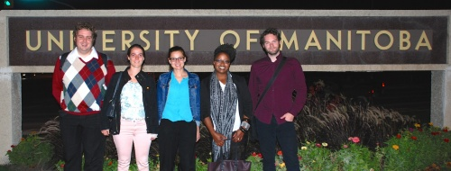 IRTG Diversity PhD Students in Winnipeg