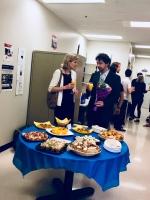 Consule générale d'Allemagne à Montréal Kathrin Misera-Lang et Martin Beddeleem (Département de science politique)