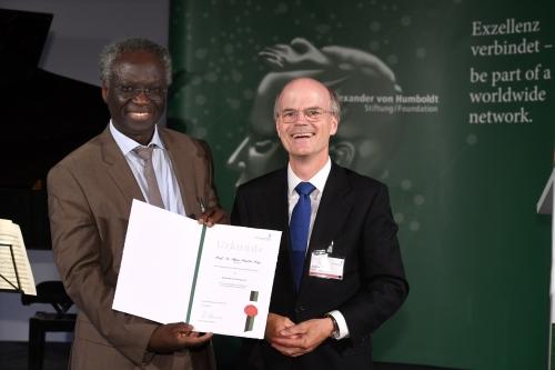 Übergabe des Humboldt-Forschungspreises