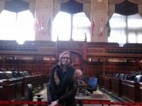 Sophie Schram in Toronto