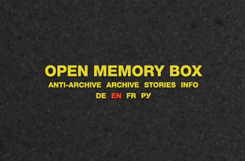 Screenshot Website OMB