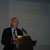 Walter Leuchs, German Consul General in Montreal, at the Conference Opening