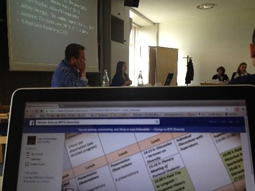 Dissertation Workshop Sessions